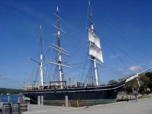 "Китобойное судно ""Charles W Morgan"" (51 фото)"