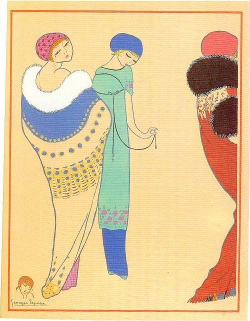 Женский образ на старой открытке 8 (197 открыток)