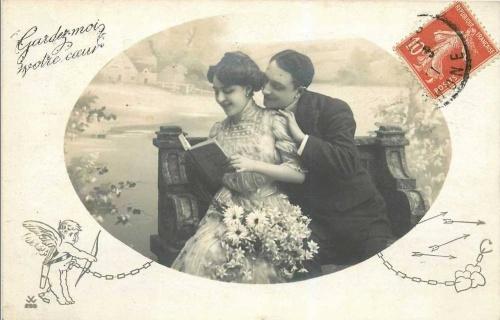 Открытки ХХ века - День святого Валентина 1 (258 открыток)