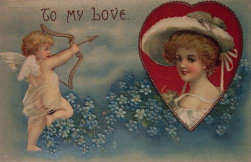 Открытки ХХ века - День святого Валентина 1 (258 фото)