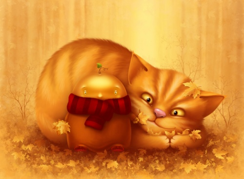 Cat and mouse   Кошки и мышки (190 фото)