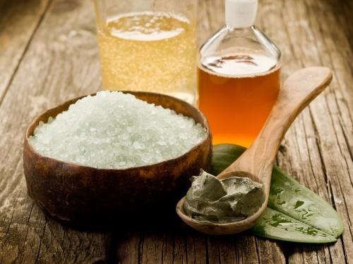 Оливковое мыло и морская соль (5 фото)