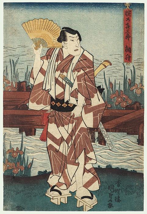 Японский художник Toyokuni Kunisada (1786 - 1864) (96 работ)