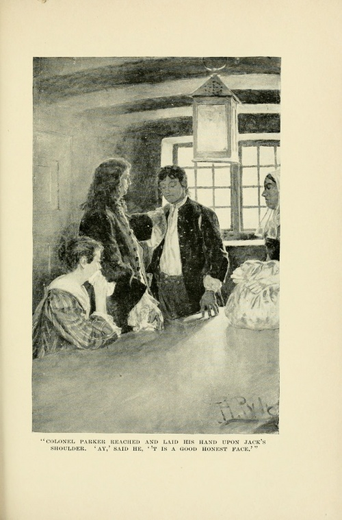 American illustrator Howard Pyle (1853-1911). Part 3 (341 фото)