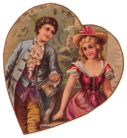 Открытки ХХ века - День святого Валентина 2 (322 открыток)