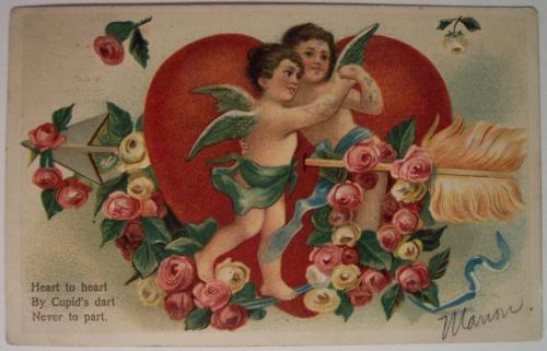 Открытки ХХ века - День святого Валентина 2 (322 фото)
