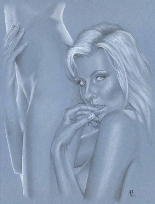 Рисованные девушки Adam Braun (102 фото)