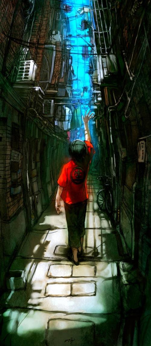 Иллюстратор Wenqing Yan (2013) (350 фото)