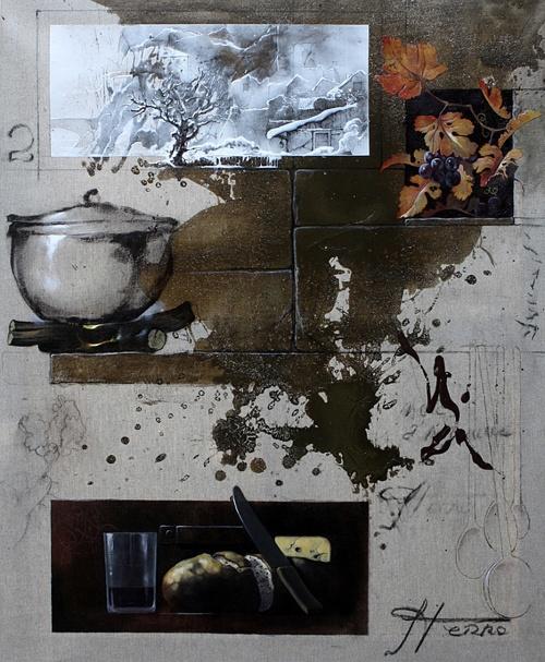 Бразильский художник Sergio Ferro (41 фото)