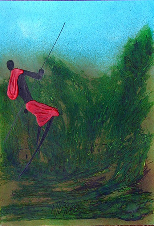 Художник Bernard Ndichu Njuguna (39 фото)