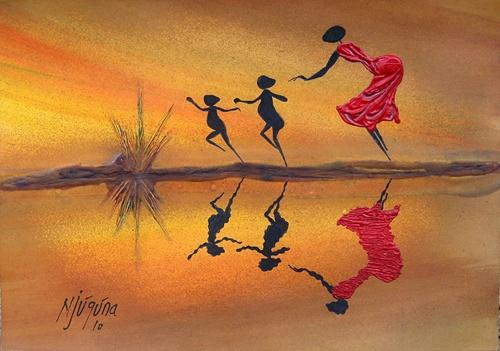 Художник Bernard Ndichu Njuguna (39 работ)