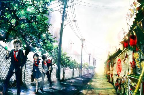 Новые работы Yuumei (10 фото)