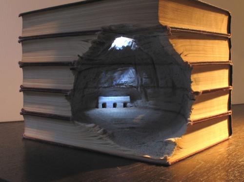 Книжных дел мастер... Guy Laramee (36 фото)