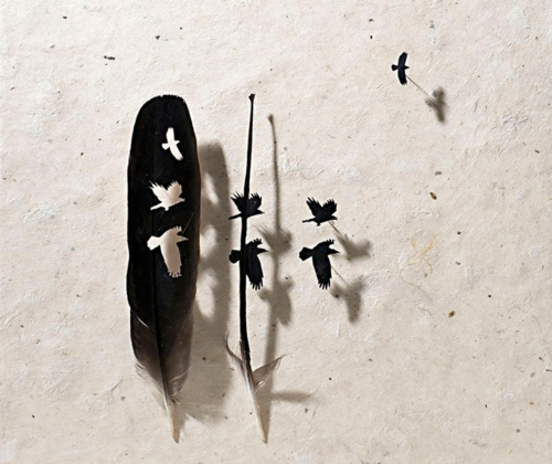 Перьевое искусство... Chris Maynard (58 работ)