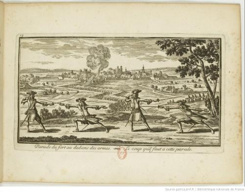 Мастерство владения оружием, или применение шпаги, доведенное до совершенства (Андре Вернессон Лианкур, 1686) (25 фото)