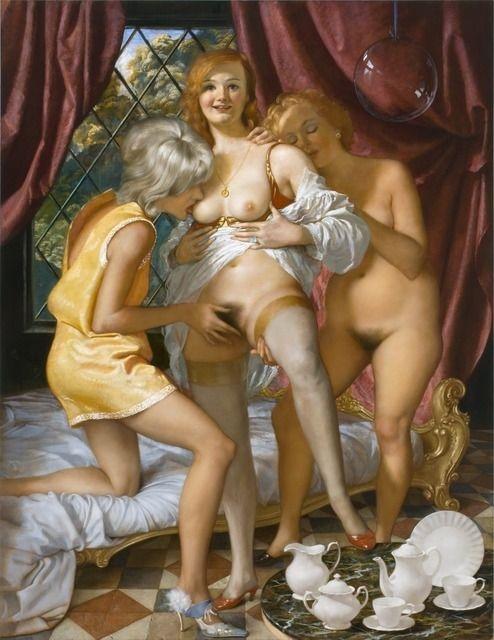 Секс в живописи фото