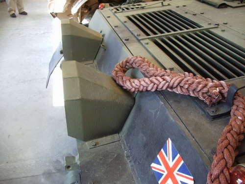 Фотообзор - британский легкий танк CVR(T) FV101 Scorpion (61 фото)
