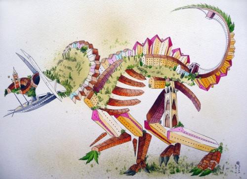 Британский художник-иллюстратор Энди Консул (Andy Council) (66 фото)