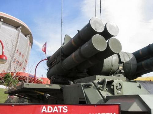 Фотообзор - американская ЗРК ADATS (70 фото)