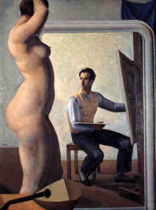 Художник и модель (90 работ)
