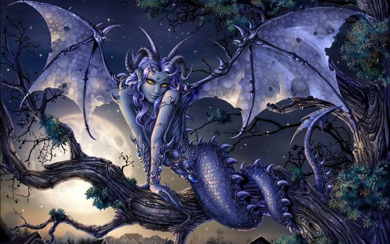 Night elves seducing monsters sexy girlfriend