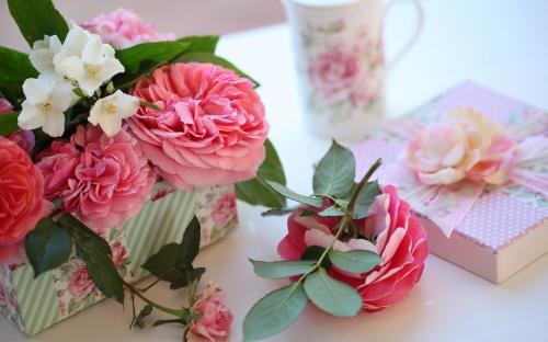 Композиции с розами (36 фото)