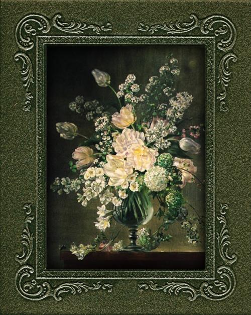 Cecil Kennedy. Букеты цветов и очарований (140 работ)