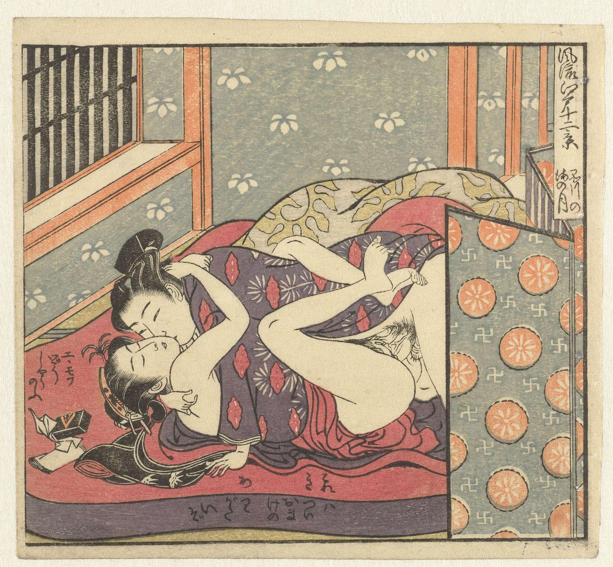 Японская эротическая гравюра 24 фотография