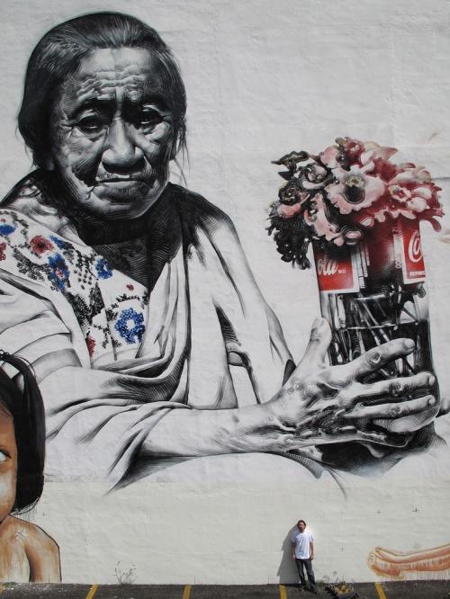 Американский уличный художник El Mac (69 фото)