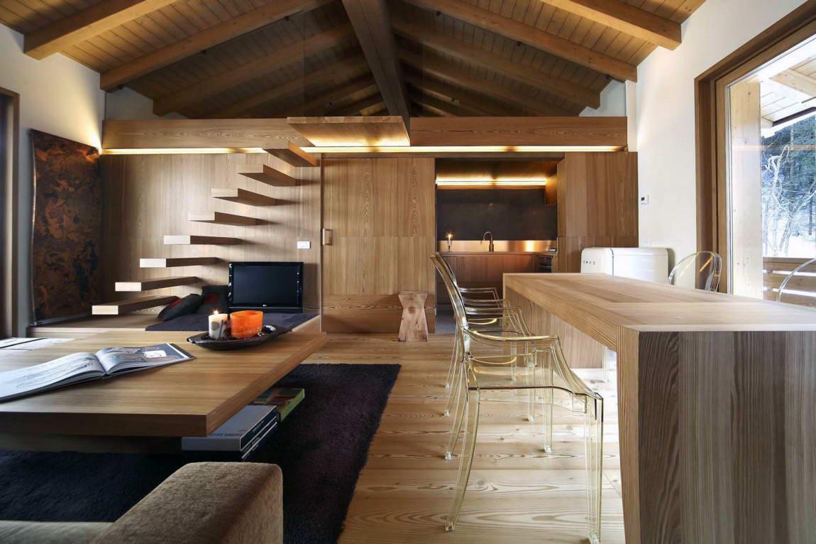 Дизайн из дерева фото
