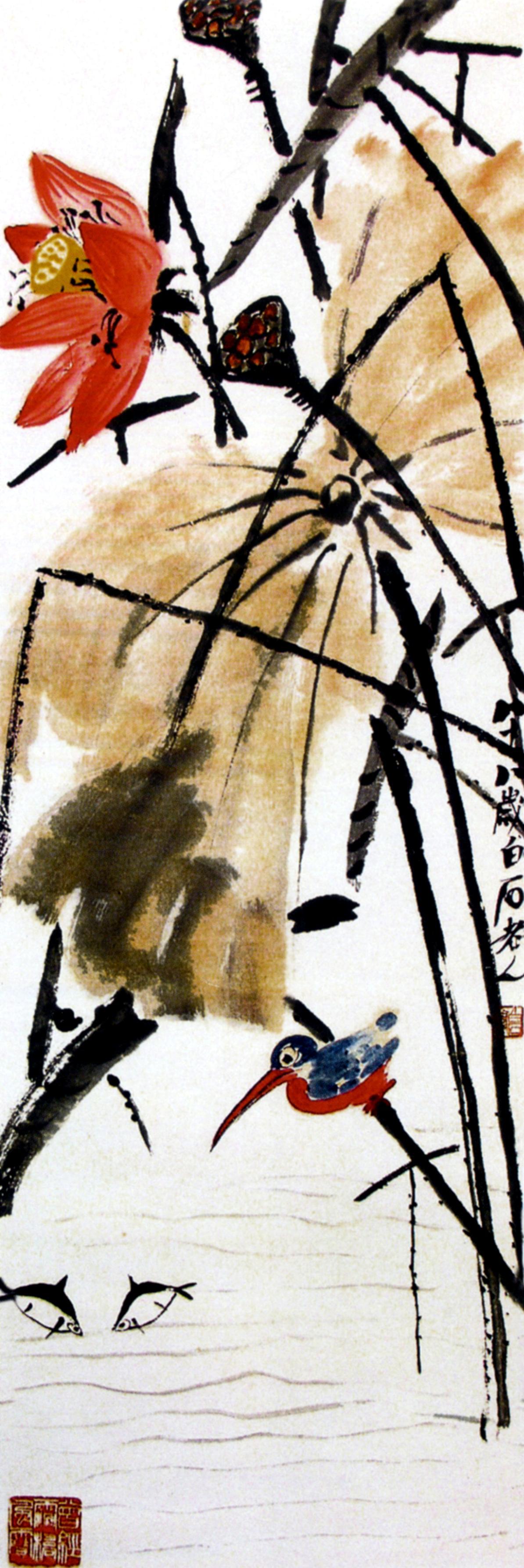 Картины Ци Бай-ши. Посвящается всем ...: nevsepic.com.ua/art-i-risovanaya-grafika/17137-kartiny-ci-bay-shi...