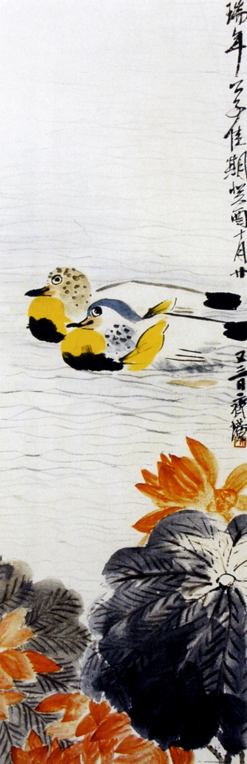 Картины Ци Бай-ши. Посвящается всем ценителям прекрасного! (36 работ)