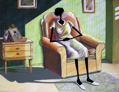 Современная американская художница Elginia McCrary (50 фото)