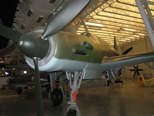 Фотообзор - немецкий истребитель Dornier Do335 A Pfeil (26 фото)