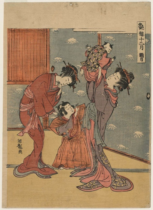 Artworks by Isoda Koryusai (1735 - ок.1790) (583 работ) (2 часть)