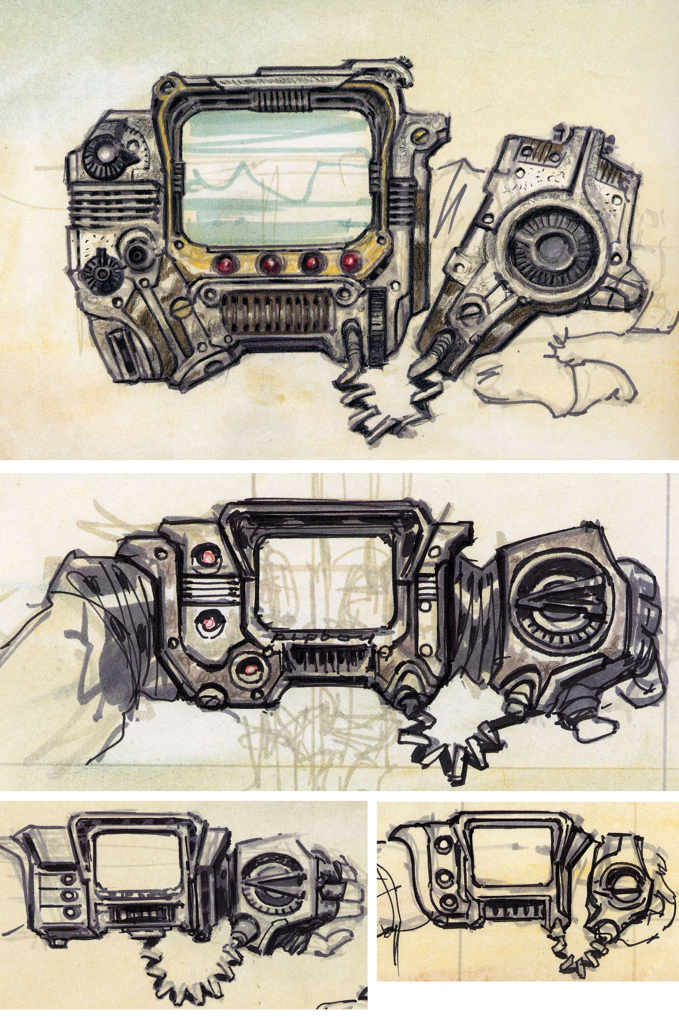 Fallout 4 Силовой Кабель