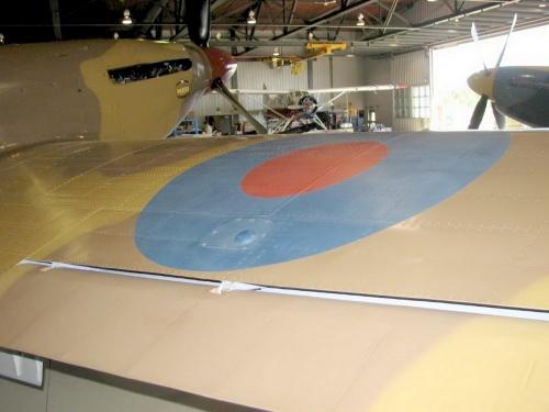 Фотообзор - английский истребитель Hawker Hurricane Mk. IV Walk Around (22 фото)