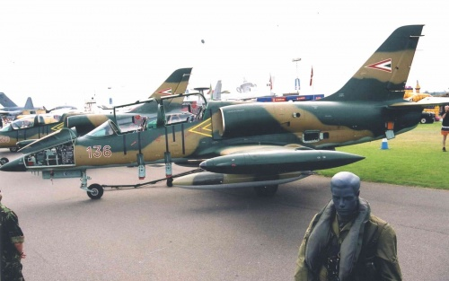 Фотообзор - чешский тренировочный самолет L-39ZO Albatros (76 фото)