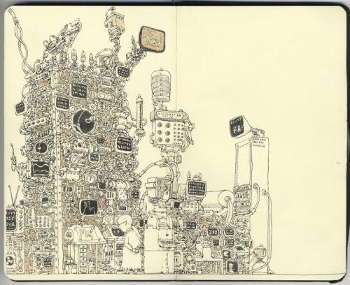 Иллюстратор Mattias Adolfsson (345 работ)