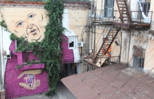 Работы стрит-артера Nikita Nomerz (25 фото)