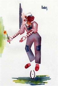 Художник Miles Baker clown artist (381 фото)