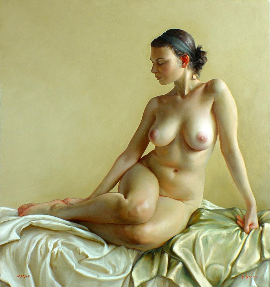 Original Female Nude Oil Painting Beauty Erotic Woman Art By Artist Vesselin Andreev The Art Of Vesselin Andreev