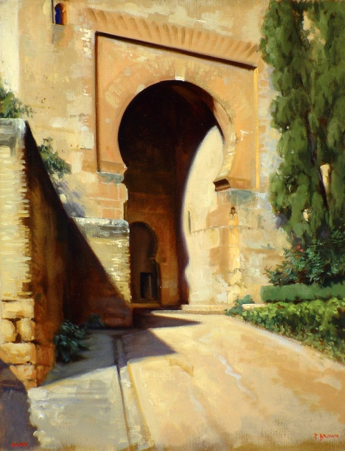 Художник Paul S. Brown (Figurative Landscapes) (53 фото)