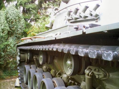 Фотообзор - американский средний танк M48 Patton Walk Around (31 фото)