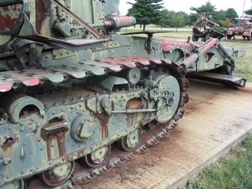 Фотообзор - советская гаубица калибра 203 мм Б-4 (38 фото)