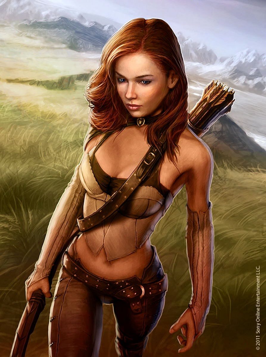 Hot elf female fucked movie