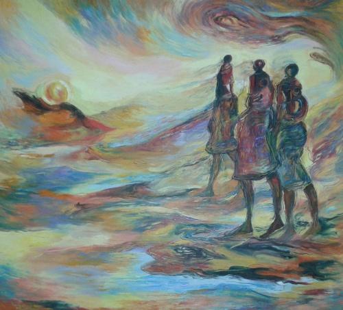 Современный африканский художник-живописец Paulo Akiiki (44 фото)
