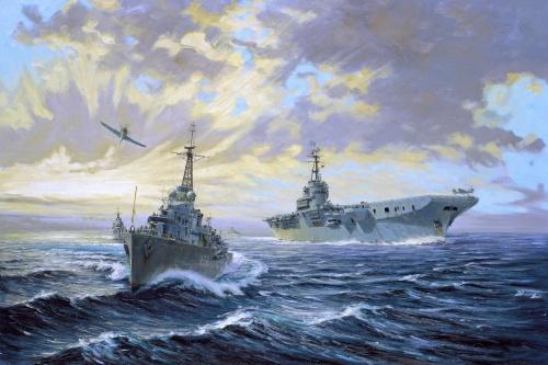 Королевский канадский военно-морской флот (7 работ)