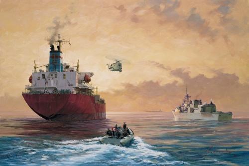 Королевский канадский военно-морской флот (7 фото)