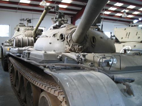 Фотообзор - советский основной танк Т-54 (161 фото)
